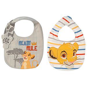 Simba Bib Set for Baby - 2-Pack - The Lion King