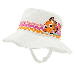 Nemo Swim Hat for Baby - White