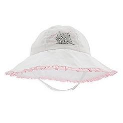 Dumbo Sun Hat for Baby - White
