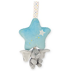 Dumbo Plush Musical Pull for Baby - Blue