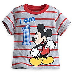 Mickey Mouse ''I Am 1'' Birthday Tee for Boys