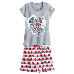 Mickey and Minnie Mouse Sleep Set for Women