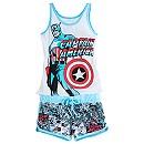 Captain America Sleep Set for Women