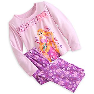 Rapunzel Pajama Gift Set for Girls