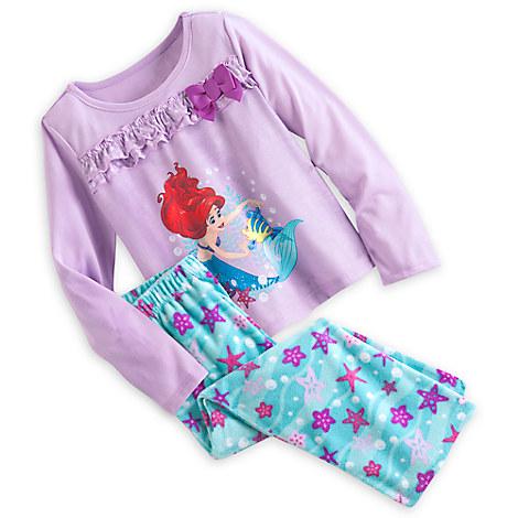 Ariel Pajama Gift Set for Girls   Pajama Sets   Disney Store