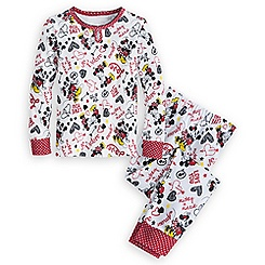 Mickey and Minnie Mouse PJ PALS for Girls - ''I Love Mickey'' Collection