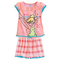 Tinker Bell Short Sleep Set for Girls