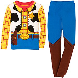Sheriff Woody Costume PJ PALS for Boys