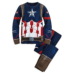 Captain America Costume PJ PALS for Boys - Captain America: Civil War