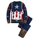 Captain America Costume PJ PALS for Boys - Captain America: Civil War