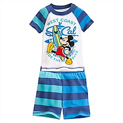 Mickey Mouse PJ PALS Short Set for Boys