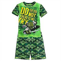 Yoda PJ PALS Short Set for Boys