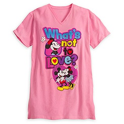 Mickey and Minnie Mouse Nightshirt for Women