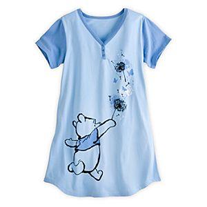 Winnie the Pooh Nightshirt for Women - Blue