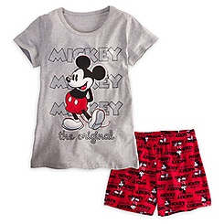 Mickey Mouse Sleepwear Set for Women