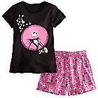 Jack Skellington Sleepwear Set for Women