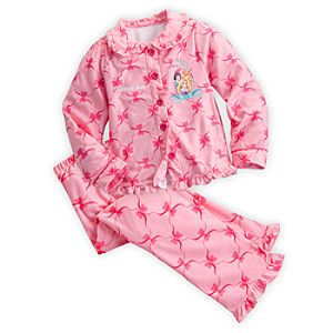 Disney Princess Pajama Set for Girls - Holiday - Personalizable