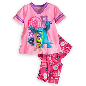 Mike and Sulley Sleep Set for Girls - Monsters University