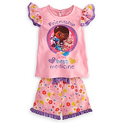 Doc McStuffins Short PJ Pal for Girls
