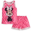 Minnie Mouse Pajamas Sleep Set for Girls