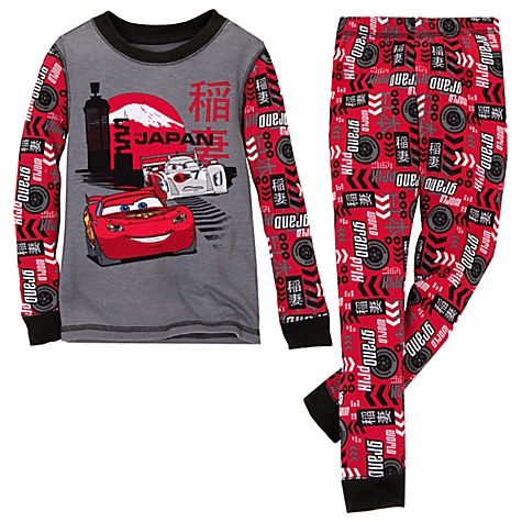 Cars 2 Shu Todoroki and Lightning McQueen PJ Pal for Boys