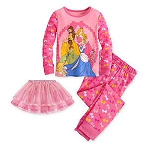 Disney Princess Deluxe PJ Pal for Girls