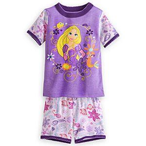 Rapunzel PJ PALS Short Set for Girls