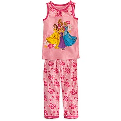 Disney Princess Tank Set for Girls
