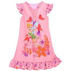 Ruffled Tinker Bell Nightshirt for Girls