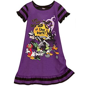 Halloween Mickey Mouse and Friends Nightshirt for Girls