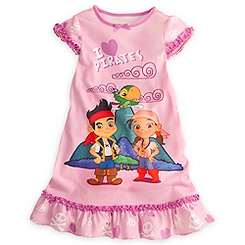 Jake and the Never Land Pirates: Izzy Nightshirt for Girls