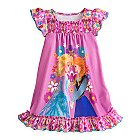 Anna and Elsa Nightshirt for Girls