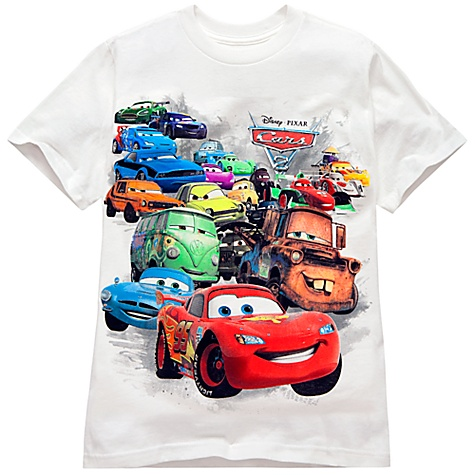 Organic Cotton Cars 2 Tee for Kids