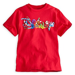 Disney Logo Tee for Boys - Summer Fun
