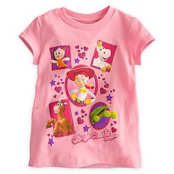 Toy Story Tee for Girls