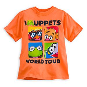 Muppets Most Wanted Tee for Boys