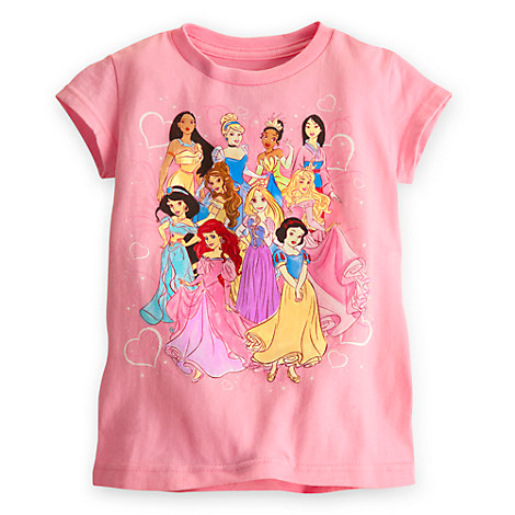 Disney Princess Tee for Girls | Tees, Tops & Shirts ...