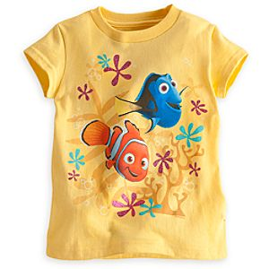 Nemo and Dory Tee for Girls