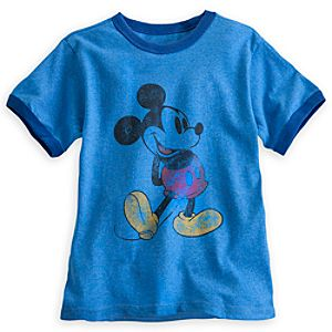 Mickey Mouse Classic Ringer Tee for Boys