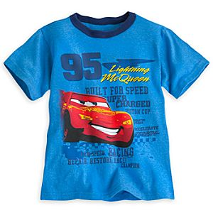 Lightning McQueen Ringer Tee for Boys