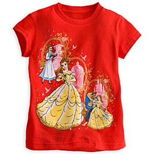Beauty and the Beast Tee for Girls