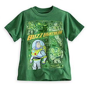 Buzz Lightyear and Zurg Tee for Boys