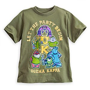 Oozma Kappa Tee for Boys - Monsters University