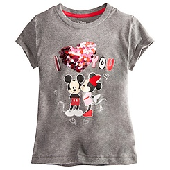 Minnie and Mickey Tee for Girls - Deluxe Storytelling