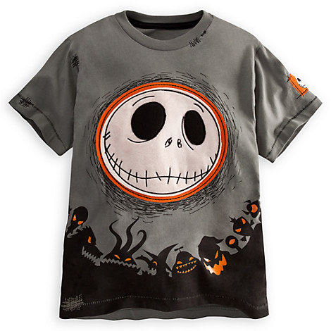 $19.50 Jack Skellington Tee for Boys - Deluxe Storytelling | Tees, Tops & Shirts | Disney Store