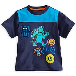 Sulley Tee for Boys - Monsters University - Deluxe Storytelling