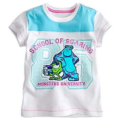Monsters University Tee for Girls - Deluxe Storytelling