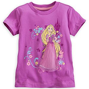 Rapunzel Tee for Girls - Deluxe Storytelling