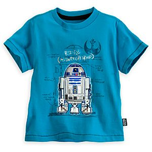 R2-D2 Tee for Boys - Deluxe Storytelling