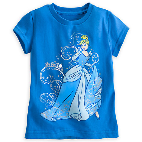 Cinderella tee at Disney Store